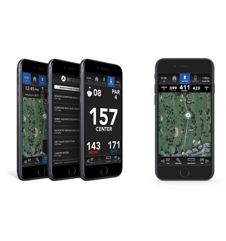 NEU Motocaddy GPS app