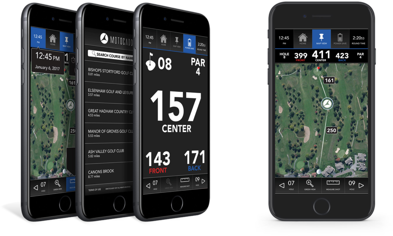 Golf Entfernungsmesser Apple Watch : Motocaddy de home page